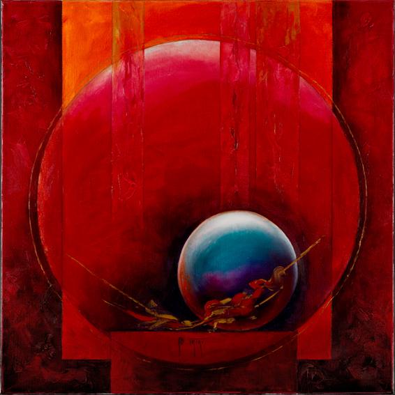 Arte Vero - Bernadette Triki - La vie se pose